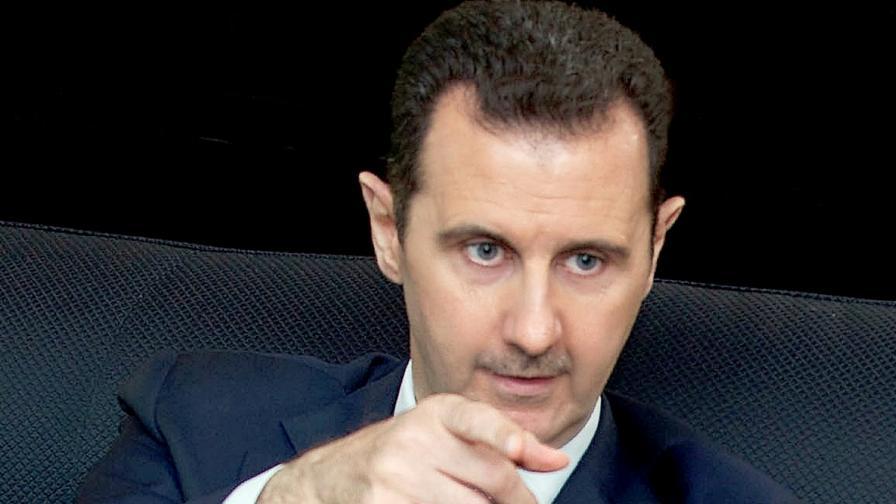 Сирийският президент Башар Асад