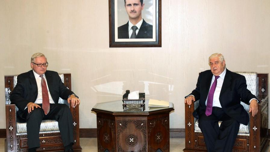 Русия: Докладът за Сирия е политизиран и предубеден