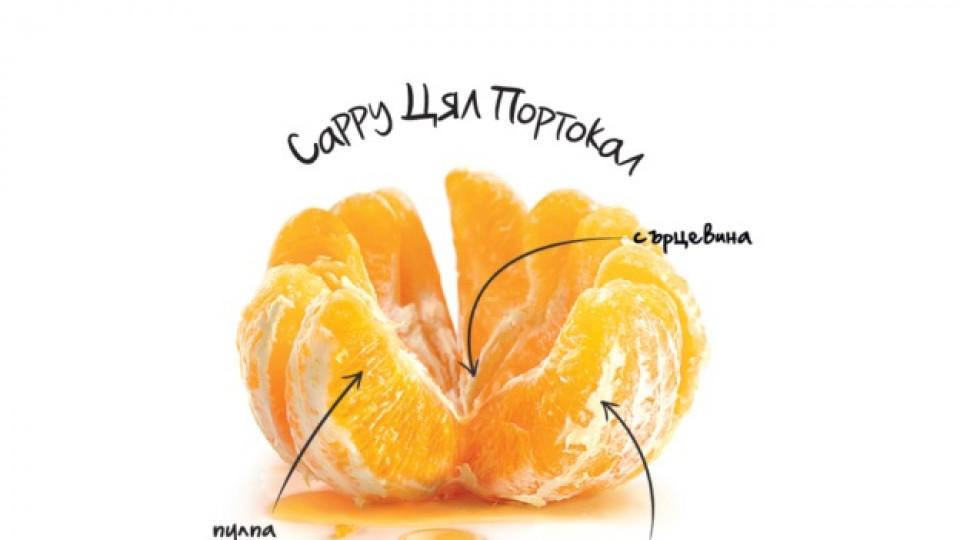 """При """"Cappy Цял Портокал"""" се усвояват ценните части на целия плод"""