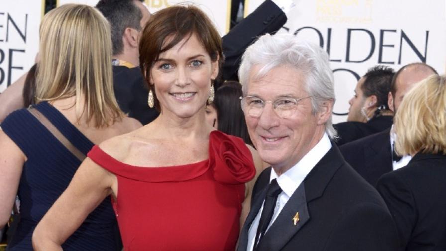 Ричард Гиър се развежда след 11 години брак