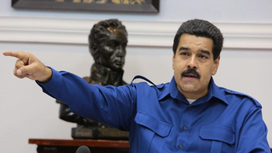 Президентът на Венецуела изгони трима дипломати на САЩ