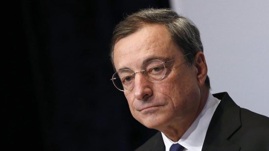 Драги: Инфлацията в еврозоната е под контрол