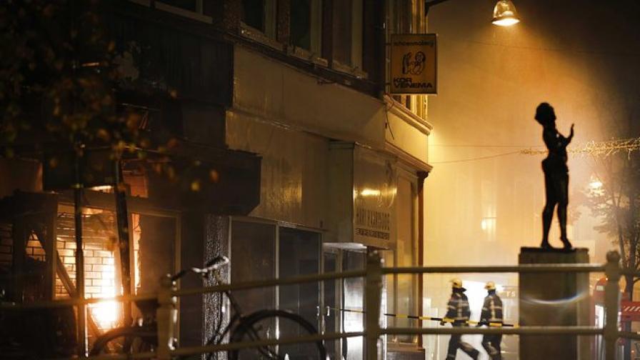 Един загинал в пожар в Холандия, унищожил дома на Мата Хари