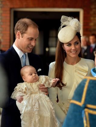 принц Джордж кръщене