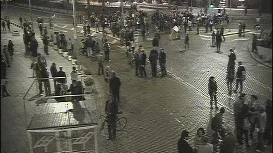 Протестът подкрепи студентите, окупирали аула в Софийския университет