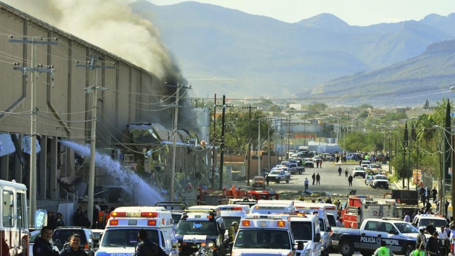 Мексико: Взрив в сладкарска фабрика рани десетки