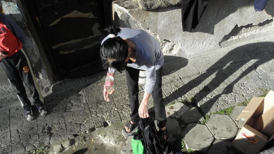 38-годишен ром се самозапали в Дупница пред сина си