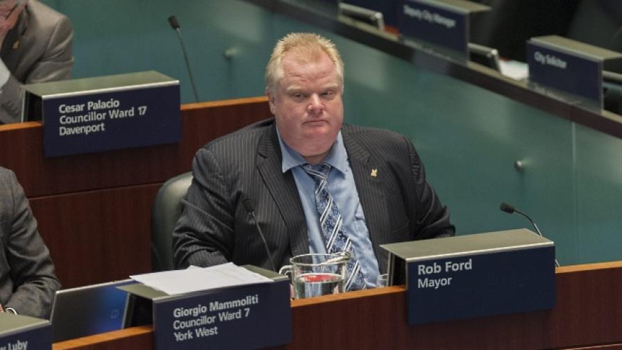 Кметът на Торонто Роб Форд