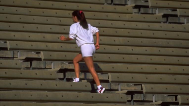 интензивна тренировка спорт тичане