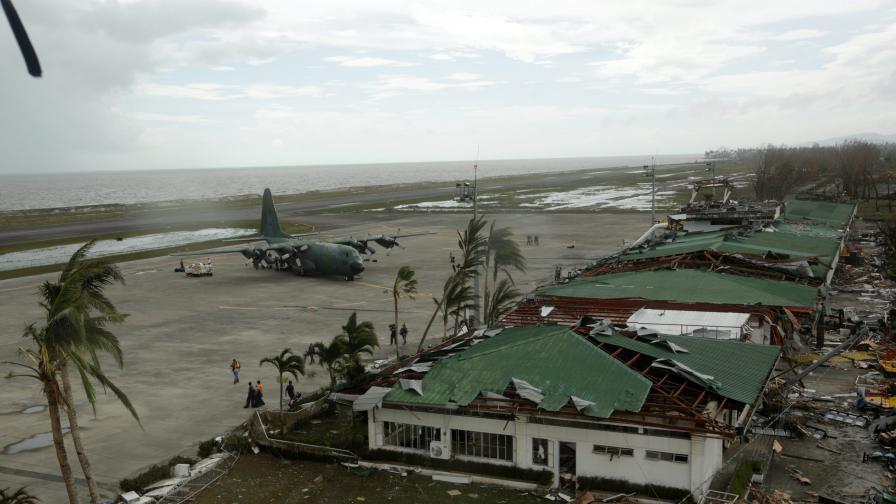 Последиците от тайфуна Хайян
