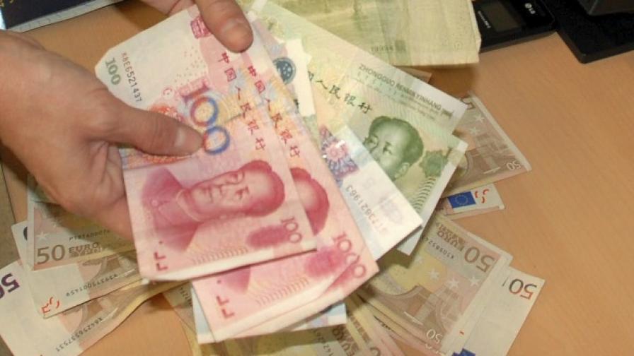 Китайски жених подари 102 кг банкноти на годеницата си