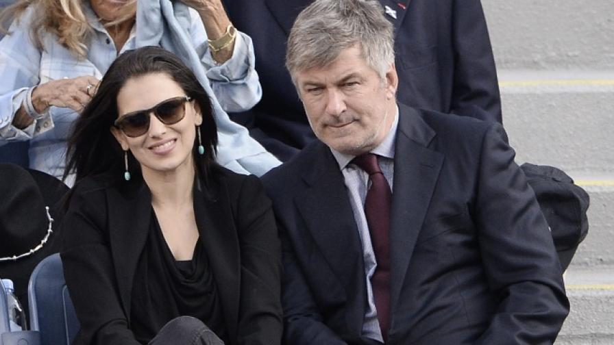 Алек Болдуин и съпругата му Хилария Томас, които скоро посрещнаха на бял свят дъщеря си Кармен