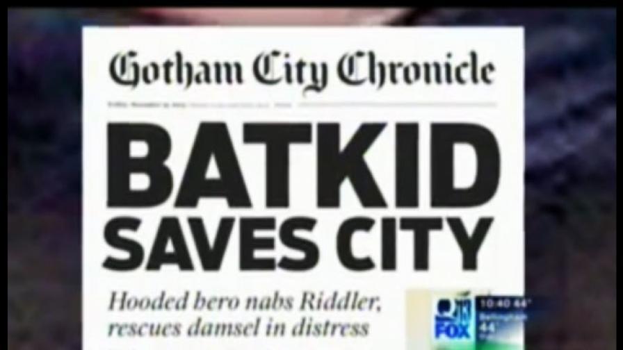 Как едно 5-годишно момче, борещо се с рака, стана истински супергерой