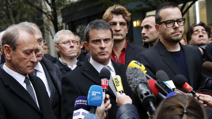 Френският вътрешен министър Манюел Валс