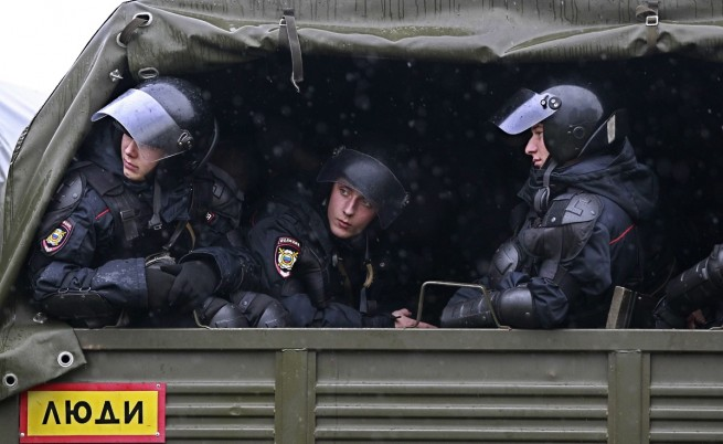 Спряха терористи, подготвяли атентат на парада в Русия