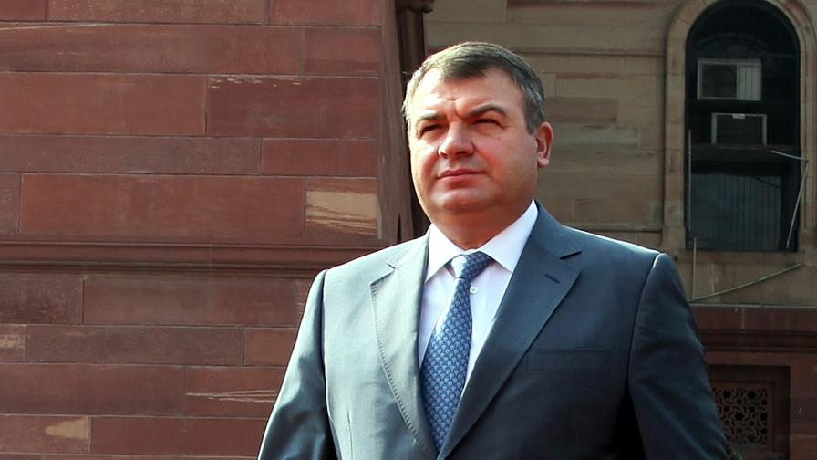 Образуваха наказателно дело срещу бившия руски министър на отбраната Анатолий Сердюков