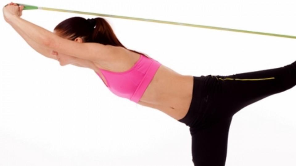 Лесни упражнения с ластици