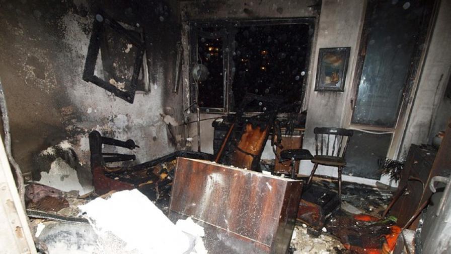Електрическо одеяло изпепели апартамент във Варна