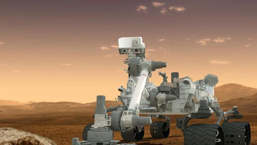 """""""Любопиткото"""" откри следи от езеро на Марс"""