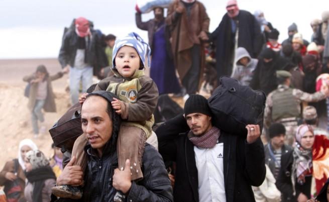 Прогноза: Сирийските бежанци може да се удвоят догодина