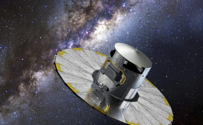 Европейски сателит ще прави точна карта на галактиката