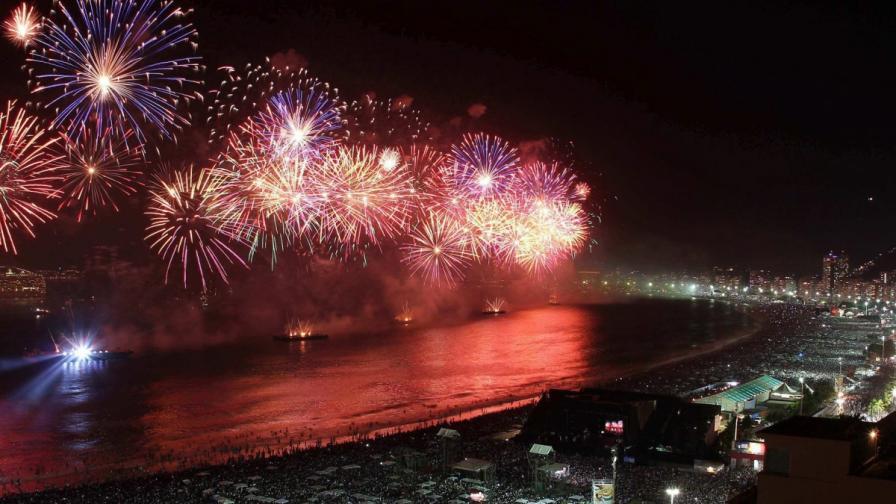 Над 2 млн. души ще посрещнат Новата година на плажа Копакабана в Рио де Жанейро