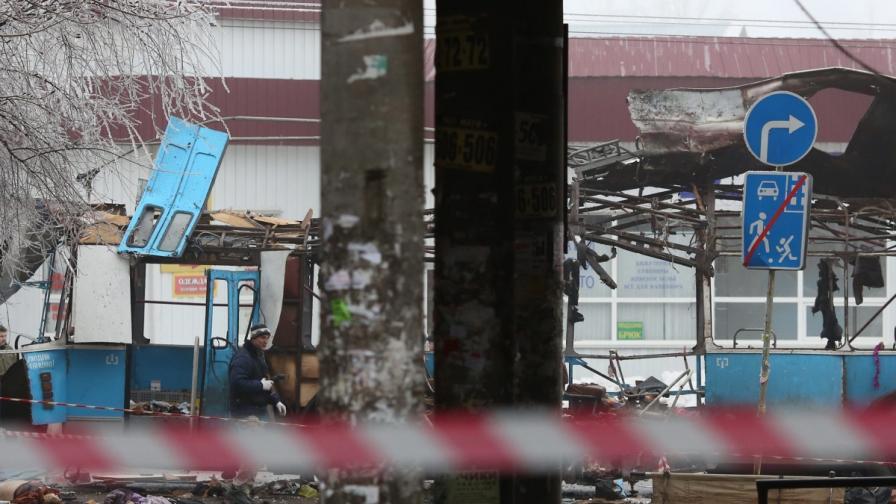 Нов атентат във Волгоград, този път е взривен тролейбус