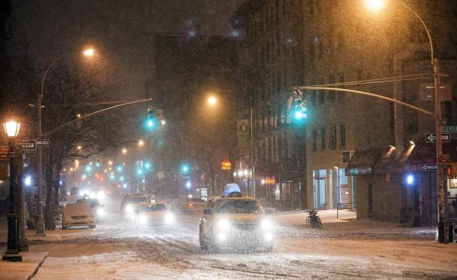 В Ню Йорк: Вековен рекорд по ниска температура