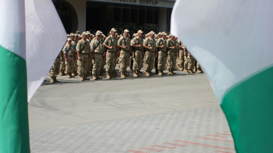 110 български военни заминават за Афганистан