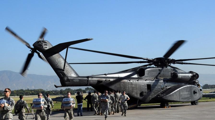 Втори американски хеликоптер се разби