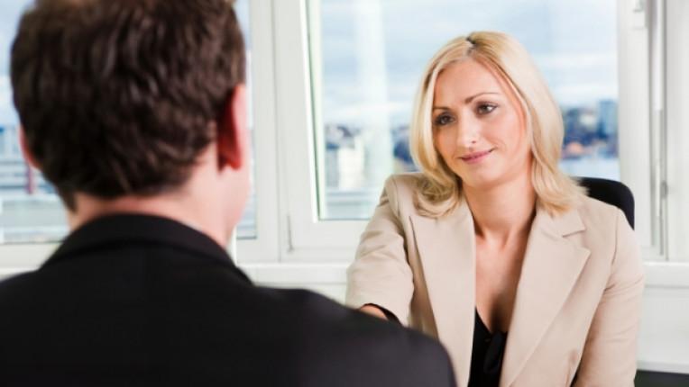 работа офис жена интервю