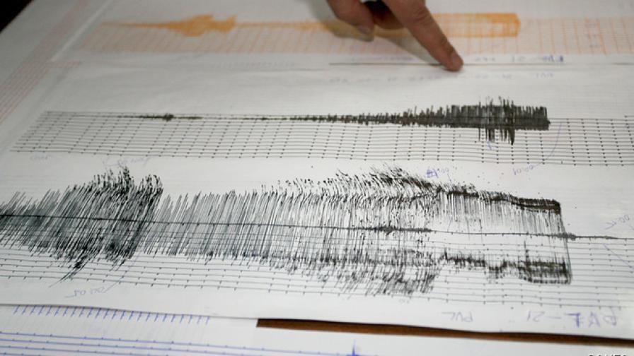 Земетресение с магнитуд 2.8 югозападните Родопи
