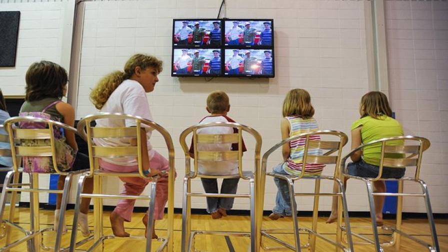 Телевизията променя структурата на мозъка при децата